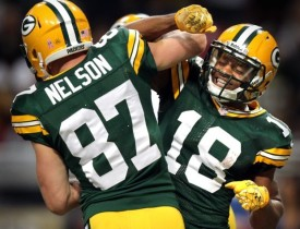 Randall Cobb and Jordy Nelson